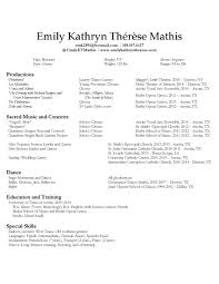 performance resume emily kathryn therese mathis emily mathis as sadie is terrifying her frequent and ruthless verbal manipulations home reporter 15 2016