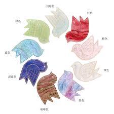 vintage birds hair clip <b>Peace Dove</b> hair clip 10 colors <b>cute</b> small ...