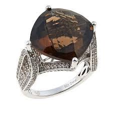 zircon gemstone ring