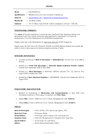 professional digest samples professional resume format for graphic designer