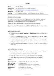 professional digest samples professional resume format for graphic designer