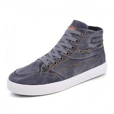 <b>Casual Men's Canvas Shoes Boots</b>