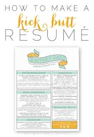 how to make a kick butt resumé whitney blake custom resume design