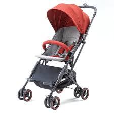 Купить Детская <b>коляска Xiaomi Light Baby</b> Folding Stroller Red с ...