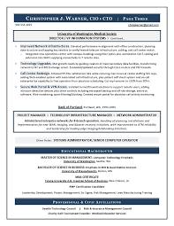 Sample CIO Resume from Executive Resume Writer  amp  IT Resume Writer An Expert Resume for your CIO resume writing needs