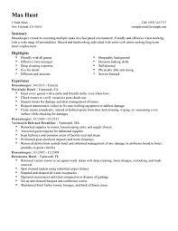 hospitality resume skills list truwork co resume for hotel resume sample work resume hotel housekeeper housekeeper resumes