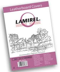 Lamirel Delta A4, Green обложка для переплета (100 шт ...