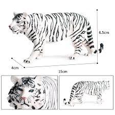 <b>Hot Sale Simulation</b> Wild Animal Toy White Tiger Child Dimensions ...