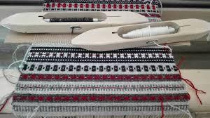 Estonian patterns in Turgi <b>weaving cottage</b> – Caito