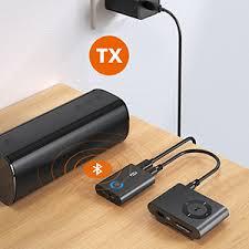 TaoTronics <b>Bluetooth</b> Transmitter for TV 2-in-1 <b>Wireless</b> 3.5mm ...