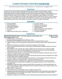 organizational development resume examples   human resources    christopher h    hr generalists resume   new york  new york