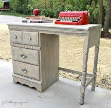 vintage desk makeover by girl in the garage an old tattered yard sale desk was amazing vintage desks