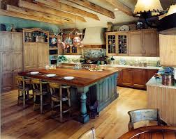 rustic kitchen island: image of country rustic kitchen island