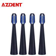 AZDENT Brand <b>New 4pcs</b>/<b>set</b> Toothbrush Head <b>Electric Toothbrush</b> ...