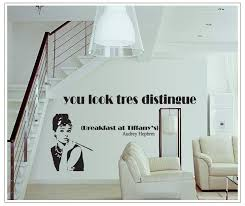 diy wall sticker home decoration poster wallpaper pvc stickers 65175cm audrey hepbrm words picture aliexpresscom buy office decoration diy wall