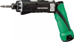 <b>Отвертка</b> аккумуляторная <b>HiKOKI DB3DL2</b>, зеленый - купить по ...