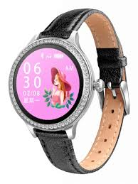 <b>Умные часы ZDK</b> Black Leather - Чижик