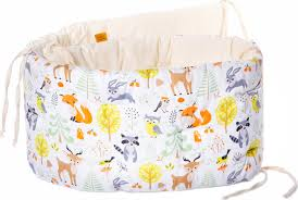 <b>Бортик в кроватку</b> HoneyMammy Small Fairy <b>Forest</b> 180 см ...