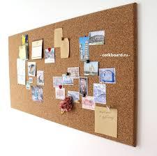 Пробковая доска для заметок без <b>рамок</b> / Corkboard, no frame. Size