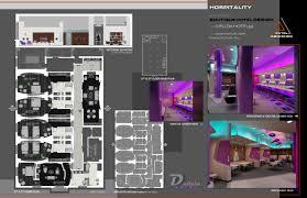 interior architecture design portfolio sample by abhishek patel qview full size