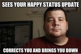 Negative Facebook Friend memes | quickmeme via Relatably.com
