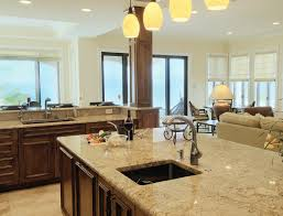 Paint For Open Living Room And Kitchen Kitchen Beautiful Open Living Room And Kitchen Designs With