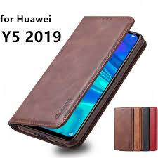 AZNS Case for Huawei Y5 2019 PU Leather Cover Case Y5 2019 ...