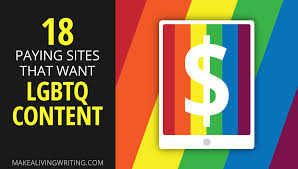 writer pay archives make a living writing 18 paying sites that want lgbtq content com