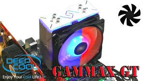 <b>Deepcool Gammaxx GT</b> ОБЗОР и ТЕСТ - YouTube