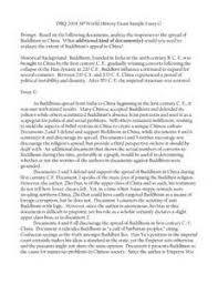 example of a dbq essay ap world history dbq sample essay   essay topics dbq ap world history exam