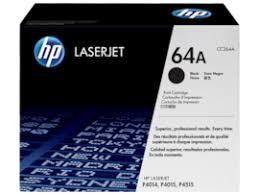 <b>HP 64A</b> Black Original LaserJet Toner Cartridge, <b>CC364A</b> (<b>CC364A</b>)