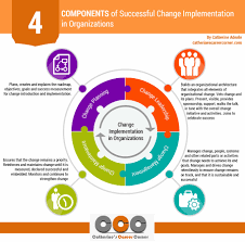 leading change 35 questions to ask first catherine s career successful change implementation in organizations infographic