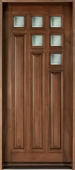 Cherry Solid Wood Front Door  Single  D