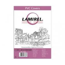 Купить <b>обложки lamirel transparent</b> a4, pvc, прозрачные, 200мкм ...