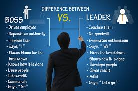 culcjamesn difference between leadership and boss
