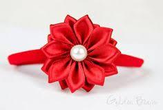 Ivory <b>Flower</b> Girl <b>Headband</b> - 3 Ivory Organza <b>Flowers</b> Handmade ...