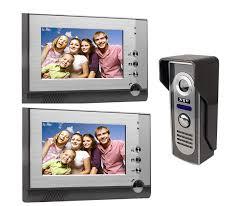 <b>Yobang Security</b> Wired 7 Inch LCD Monitor <b>Doorbell</b> Camera <b>Video</b> ...