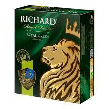 <b>Чай Richard Royal Green зелёный</b> (100 пакетиков) — купить в ...