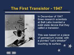 「1947  Bell Laboratories」の画像検索結果