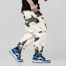Hedonistk <b>Hip Hip Streetwear Men's</b> Camouflage Cargo <b>Pants</b> 2019 ...