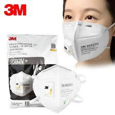 3M 9501V+ 9502V+ Mask Anti Particulate Respirator Disposable ...