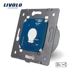 livolo us standard wall light touch screen switch 2gang 2way