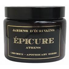 bougie Le <b>jardin de</b> EPICURE - Athens - NICHE <b>PERFUMES</b> E-SHOP