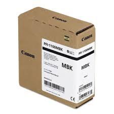 <b>Canon PFI</b>-<b>1100MBK</b> Pigment <b>Matte Black</b> Ink Cartridge 160ml ...