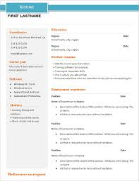 basic resume template –    free samples  examples  format    basic resume example  free download
