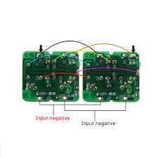 40W <b>DC</b>-AC <b>12V</b> To <b>220V</b> Step-up Transformer Boost Module ...