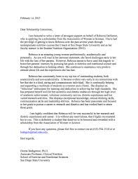 letter of recommendation for a student scholarship letter format sample