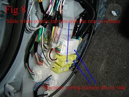 turn signal mirrors installation for 2011 2015 toyota sienna unplug this 2 wire harness connector as show in picture fig 10 here for passenger side and fig 8