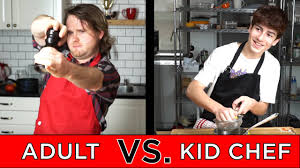 <b>Kid Professional</b> Chef Vs. <b>Adult</b> Chef - YouTube