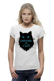 <b>Футболка</b> Wearcraft Premium <b>Mother</b> of cats #2417565 – заказать ...
